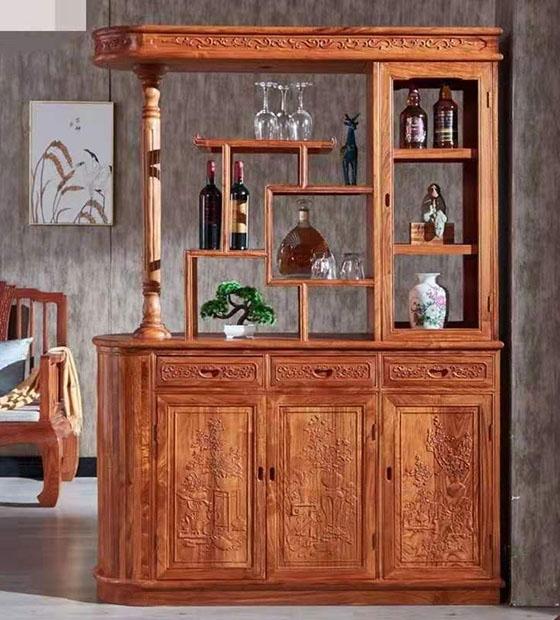 昆明紅木酒柜