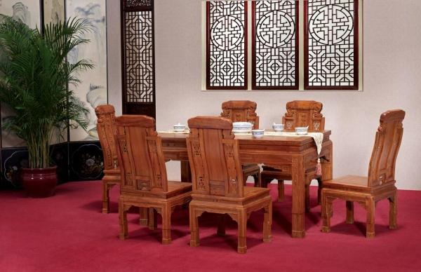 豪華大象餐桌